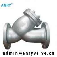 China Flanged RF  Y Type Strainer Valve SS304 SS316 CF8 CF8M Body Y Pattern Strainer on sale