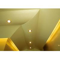 China Hollow Pattern Custom Ceilings  Roof Decorated With Singular Structures wholesale