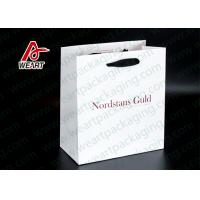 Single LOGO Custom Printed Paper Bags For Shopping Mall / Supermarket Manufactures
