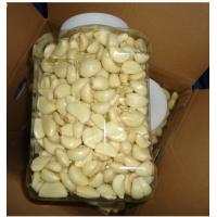 China Fresh peeled garlic, convenient and quick, the price is excellent, produced in China. wholesale