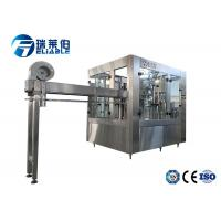China PET Bottle Carbonated Drink Filling Machine 3 In 1 Washing Filling Capping Machine wholesale