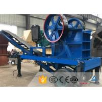 China Diesel Engine Mobile Stone Crusher Plant High Capacity Mining Jaw Crusher on sale