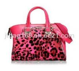 China Korean Leopard Lady Handbag,Fashion Designer Leather Handbag wholesale
