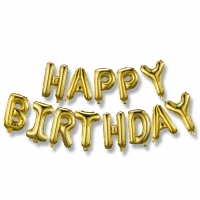 China Party Metallic Letter Shaped Balloons For Birthday on sale