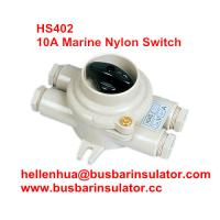 China 10A marine nylon boat accessories switch HS402 electricial connectors handware in bulk wholesale