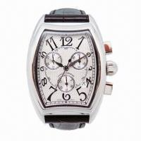 China Men's Chronograph Watch with Japan Automatic Movement and Calendar, Best Discount Price on 2013 wholesale