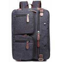 China Iron Grey Polyester Laptop Bag With Pockets Drop Resistance Large Capacity wholesale