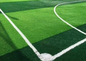 China Water Fire Resistant Football Field Artificial Grass For Playground on sale