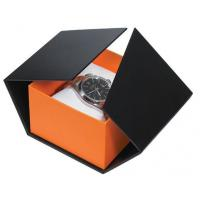 China Modern Style Watch Packaging Box Cardboard Watch Box With Pillow Imprint Logo wholesale