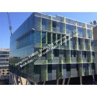 China Double Glass Solar Modules Component Photovoltaic Façade Curtain Wall Solar Cell Electric PV Systems wholesale