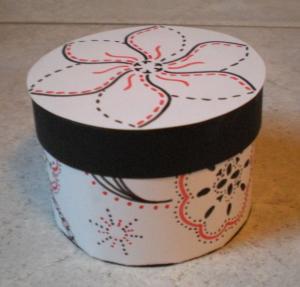 China Round gift box wholesale