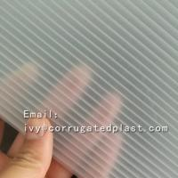 China High quality 3d lenticular pattern corrugated hard plastic acrylic sheet wholesale