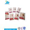 China Transparent Aluminium Foil Laminated Pouches Long Reusable Zip Lock Bags wholesale