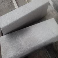 China China Granite Side Stone Dark Grey G654 Granite Kerbstone Curbstone Bush Hammered Finish wholesale