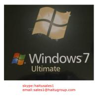 China Windows Product Key For Windows 7 Ultimate FPP/OEM Key Online Activation on sale