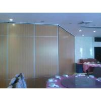 China Melamine Surface Operable Sliding Doors / Folding Room Dividers for Hotel wholesale