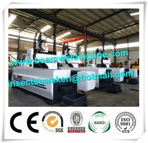 China Longitudinal CNC Drilling Machine , 6m CNC Drilling Machine For Metal Sheet wholesale