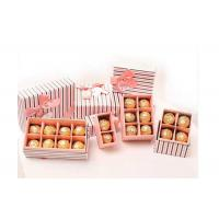 China Stripe Pattern Different Size/Shape Cardboard Chocolate Strawberry Boxes wholesale