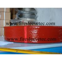 China silicone fiberglass thermal sleeve wholesale