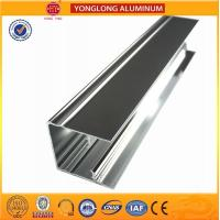 China Solid Substantial Polished Aluminium Profile Normal Length 6m wholesale