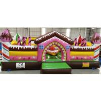 Buy cheap Inflatable Candy Fun City Children Playground With Small Slide Inflatable from wholesalers