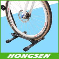 China New Arrival Bike Parking stand Storage Stand Foldable Bicycle wheel display Racks on sale