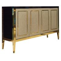 China 5 Star Hotel Style Bedroom Furniture , High Endmetal Frame Dresser Customized wholesale