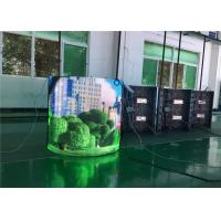 Buy cheap No Cabinet P3 Soft Indoor Digital Billboards High Flexibility With Nationstar from wholesalers