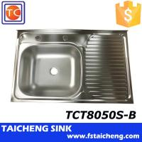 China 800x500x150mm Inox 201 Used Kitchen Sinks For Sale wholesale