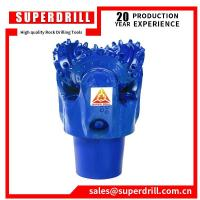"China Steel tooth tricone bit 12 1/4"" IADC126,steel tooth tricone rock drill bit wholesale"