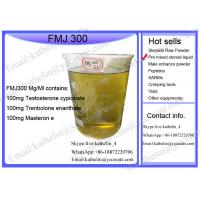 China Oil Based Injection Gear FMJ 300 Semi Finished Liquid For Bodybuilding wholesale