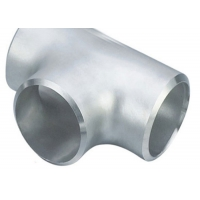 """China ASME 1/2"""" Stainless Steel Welded Pipe Fittings Sch40 Reducing Tee wholesale"""