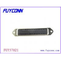 China 36 Pin Champ Straight Male PCB Connector , Panel Mount Connectors wholesale