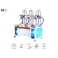 China Transparent Cylinder Edge Beading Machine For PVC Tube Edge Curling 3 Curl Heads 8S / PCS wholesale