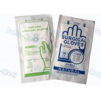 China Medical Hospital Disposable Surgical Gloves , Soft Sterile Surgical Gloves wholesale