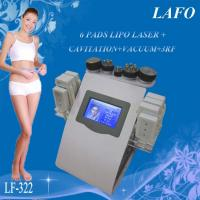 6 in 1 portable vacuum rf cavitation laser lipo slimming machine