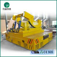 China Electric ladle transfer car anti-high temperature rail trolley for hot steel hadling in steel plant wholesale