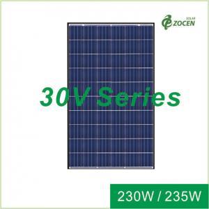 China 30V Poly Solar Panels Solar Power Panel 220W 225W 25 Years Product Warranty wholesale