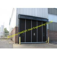 China Overhead Roll Up Rubber Curtain Doors For Industry High Performance Rapid-roll Exterior Rubber Doors wholesale