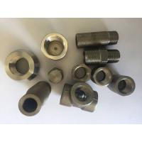 China ASTM B462 Incoloy Nickel Alloy Pipe Fittings N08020 Forged Pipe Fittings As Per ASME B16.11 MSS SP79 83 95 97 BS3799 wholesale