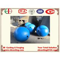 China Large Crusher Ball Castings Up to 2000mm in Diameter Mn13Cr2  EB15014 wholesale