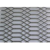 China 4 X 8 Hot Dipped Galvanized Expanded Metal Sheet Gothic Mesh 3.0 Mm Thickness wholesale