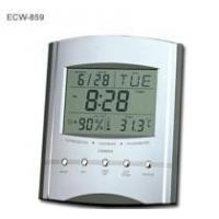 China Jumbo LCD Calendar Clock with Thermometer & Hygrometer on sale