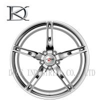 China Two Pieces Car Racing Wheels Concave Forged , Aluminum Car Racing Rims 5 Holes wholesale