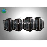China 32 KW Capacity High Temperature Air Source Heat Pumps For Bathing Places wholesale