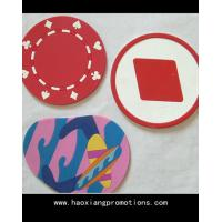 China Wholesale new creative love heat pad anti-scald restaurant placemats silicone coaster wholesale