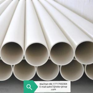 China 2.5MPa DIN8077 Thick 4.9mm PVC PPR Cold Water Pipe wholesale