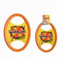 China Flying Discs/Sports Toy with 35cm Diameter on sale