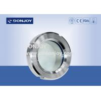 China ISO9001 / 2008 DN25-DN150 Basic weld on sight glass for  pharmacy wholesale