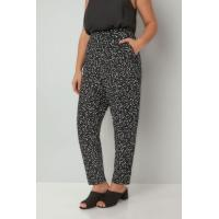 China custom ladies pants with two side pocket,print women jogger pants wholesale